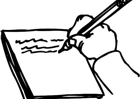 Afscheidsbrief zesdeklassers aan docenten