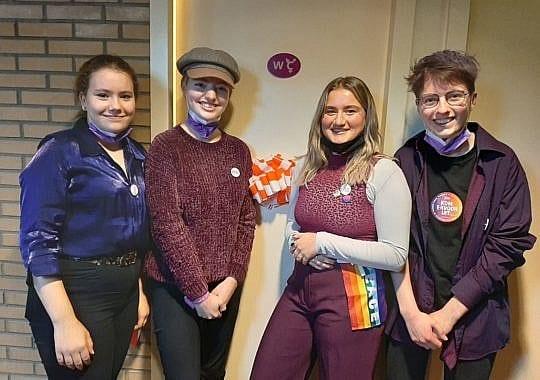 Opening genderneutraal toilet