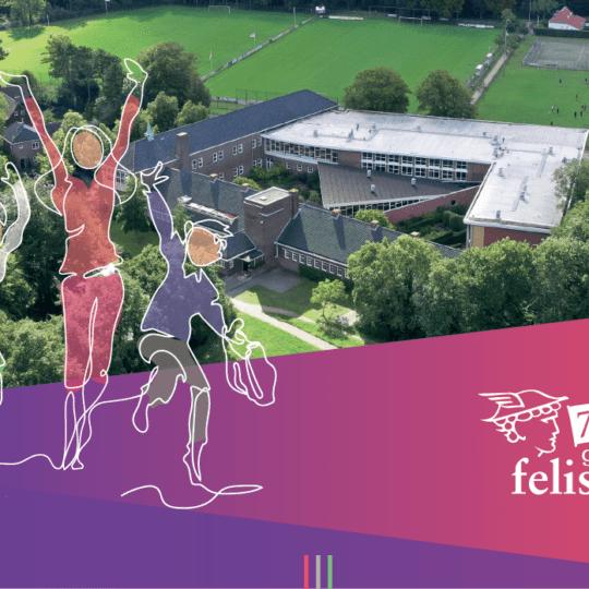 Gymnasium Felisenum wenst iedereen fijne feestdagen en een mooi 2020!