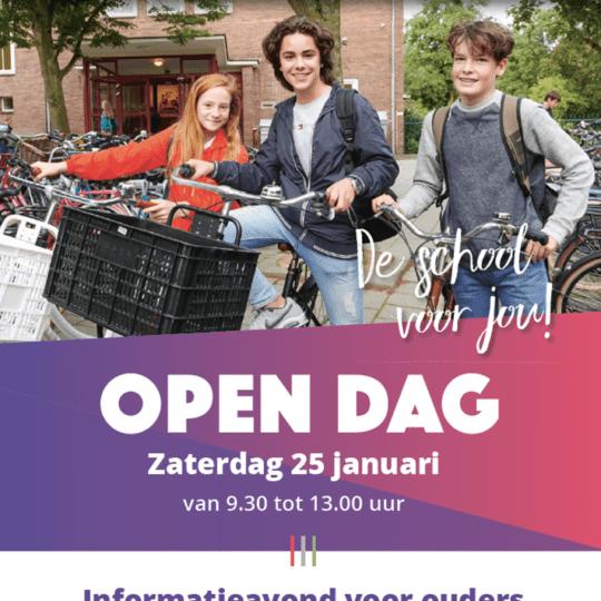 Open Dag 25 januari 2020
