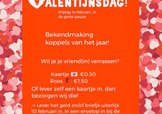Verras je vriend(in) met Valentijnsdag!