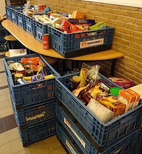 Actie voor voedselbank overweldigend succes!